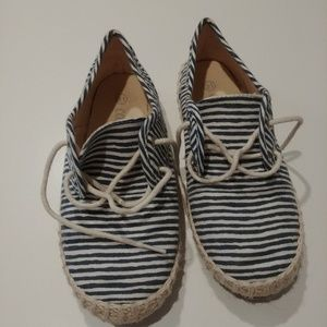 Other - Flats with blue stripes